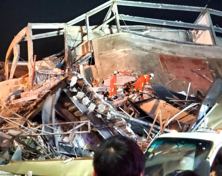 UPDATE: Six die at collapsed China quarantine site; virus spread slows ex-Wuhan