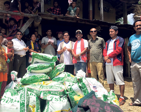 Celebrities in action for flood survivors