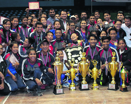 Central Region retains President's Running Shield and School Sports title