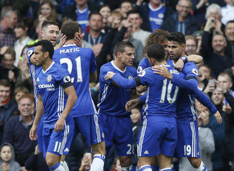 Chelsea beats the defending champions as foxes yet again drop points