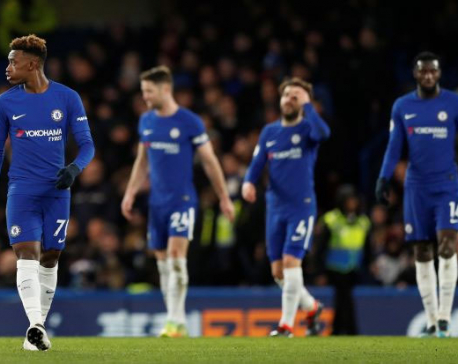 Chelsea stunned 3-0 at home by buoyant Bournemouth