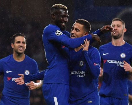 Chelsea crush debutants Qarabag on return to Europe