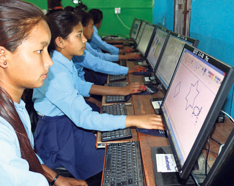 School for Chepang kids with modern facilities