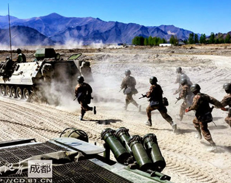 China military braced for World War III?