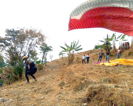Udayapur pins hope on commercializing paragliding from New Year