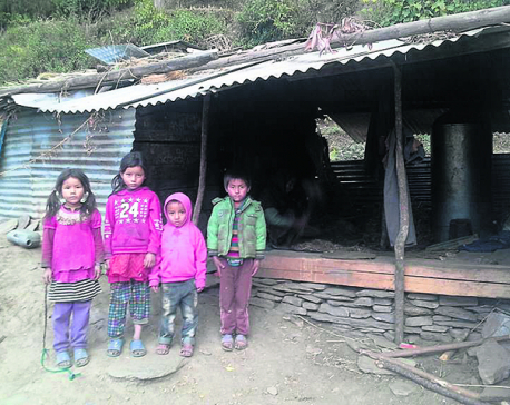 Snowfall shuts schools in Northern Gorkha