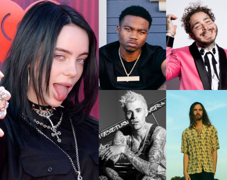 Top 5 artists in billboard this week