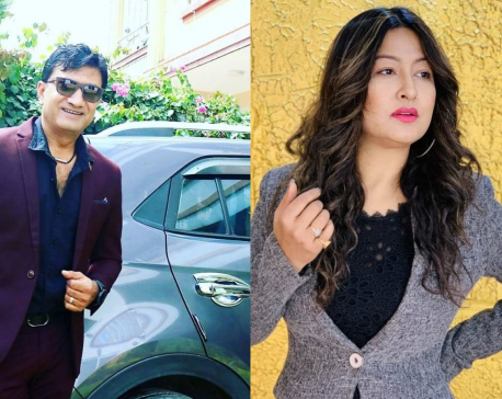 Miss Nepal 2000 Usha Khadgi going to divorce GP Timilsina