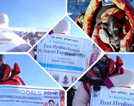 Her community helped her summit Mt Everest, now she is paying back by hunting new trekking routes and promoting tourism in Helambu