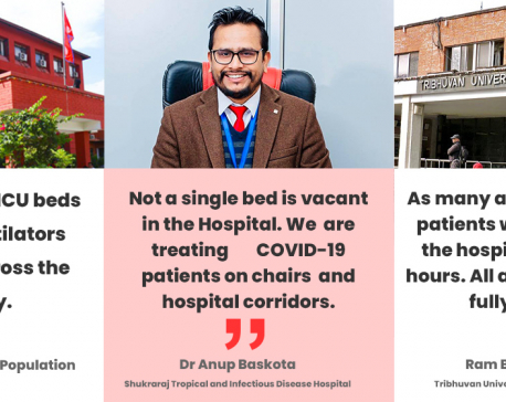 Govt says ICU beds are available, but hospitals have a different story to tell
