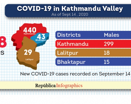 Kathmandu Valley COVID-19 caseload surges to 12,248 with 512 new cases in past 24 hours