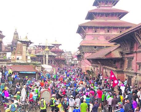 Cyclists show solidarity at KORA Challenge