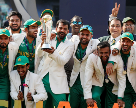 Pakistan beats Sri Lanka in nerve-shredder to reach CT semis