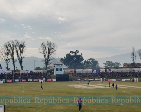 Men's T-20 cricket: Nepal loses to Bangladesh, hope for gold shatters