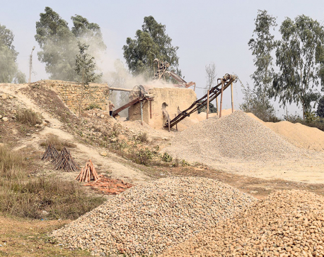 Crusher plants operate illegally as authorities keep mum