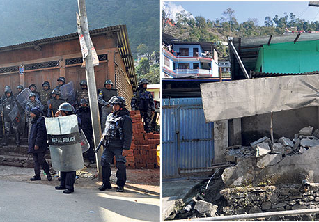 Curfew imposed in Barhabise to demolish illegal structures