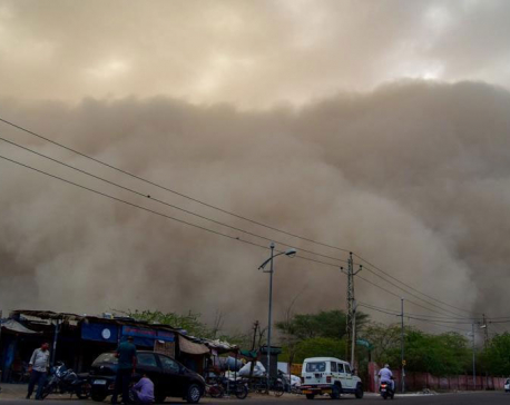 Late night dust storm hits North India, Met issues weather alert for Tuesday