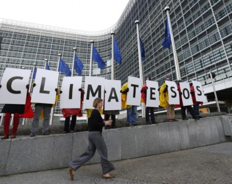Europeans fear climate change more than terrorism, unemployment or migration