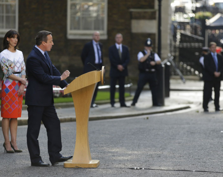 British PM David Cameron to resign on Wednesday