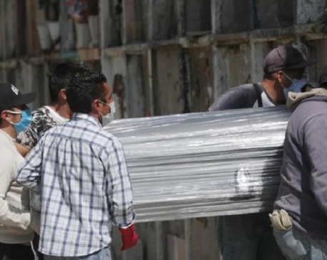 Mexico's COVID-19 death toll surpasses India, becomes world's third highest
