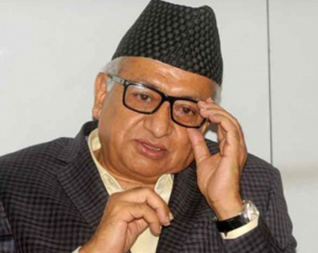 Upadhyay stresses on improving trilateral relations