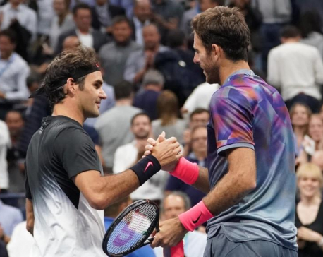 Federer's U.S. Open quest ended by big-hearted Del Potro