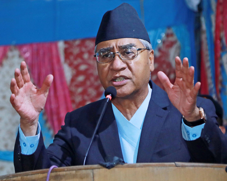 NC President Deuba lashes out at PM Oli over Kalapani issue