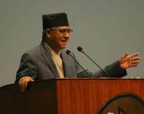 Deuba defends remarks about amendment