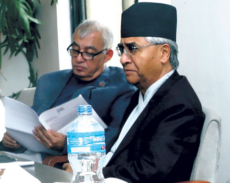 Failure to call blockade a blockade caused poll defeat: Dr Koirala