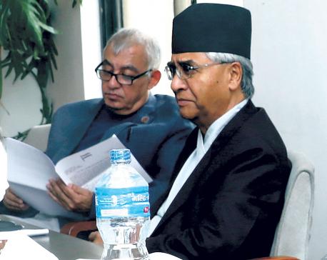 Failure to call blockade a blockade caused poll defeat: Dr Koirala