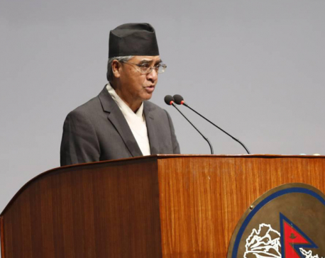 PM Deuba says nothing wrong in raising amendment issue in joint press meet (With video)
