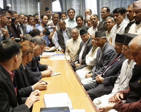 NC president Deuba files candidacy for 40th PM (Update)