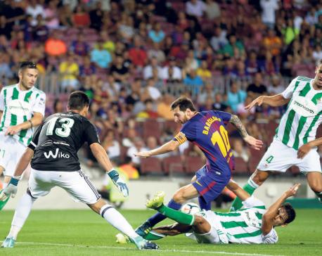 Deulofeu stars for Barca