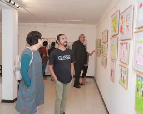 'Art is Power' on display