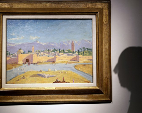 Angelina Jolie sells painting Churchill gave as gift to FDR