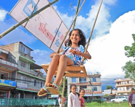 Swing this Dashain