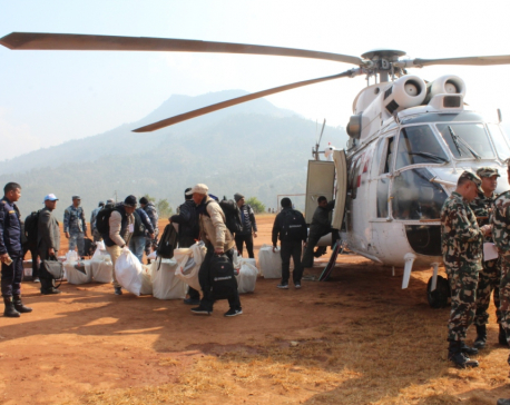 Photo feature: Choppers secure ballot boxes