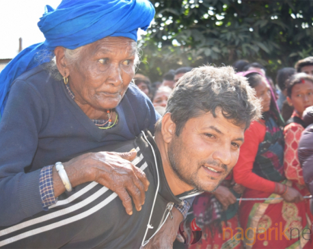 In pictures: Dhading election
