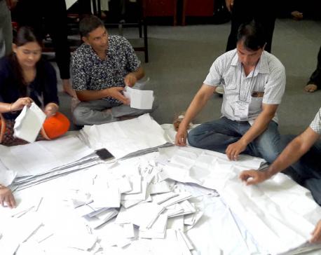 Vote count resumes in Dhangadhi Sub-metropolitan City