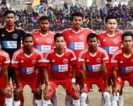 NPC enters final defeating Dharan Club