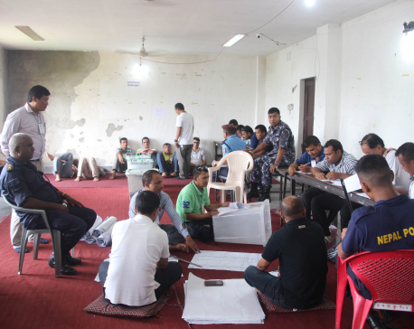 Vote count resumes after 4 hours in Dharan Sub-metropolitan City