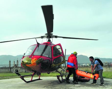 Acclaimed Swiss climber dies near Everest