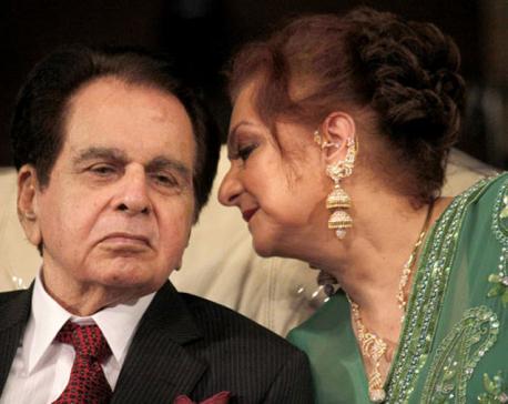 Dilip Kumar is doing fine, says wife Saira Banu