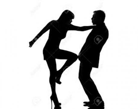 Cases of domestic violence against men go up