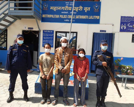 UPDATE: Police rescue kidnapped minor within three hours in Lalitpur, three kidnappers arrested