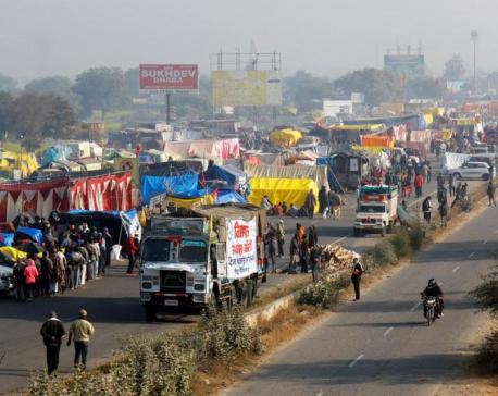 Punjab warns farm protesters against telecom mast attacks