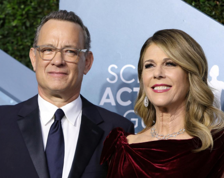 Tom Hanks' son confident dad will make full recovery