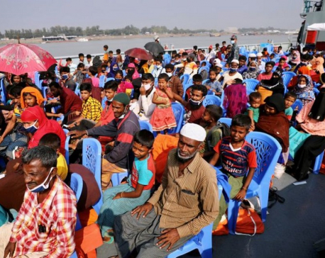 Bangladesh set to move second batch of Rohingya refugees to remote island - officials
