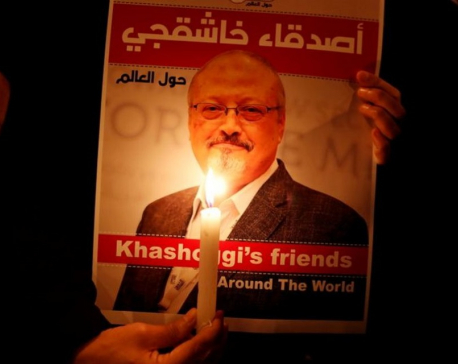 U.S. imposes sanctions, visa bans on Saudis for journalist Khashoggi's killing