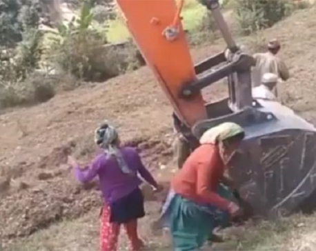 Eight injured in bulldozer attack in Baitadi